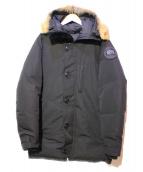 CANADA GOOSE(カナダグース)の古着「バンクーバーダウンジャケット」|ブラック
