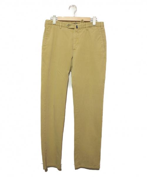 INCOTEX(インコテックス)INCOTEX (インコテックス) ウォッシュドチノパン ベージュ サイズ:48の古着・服飾アイテム