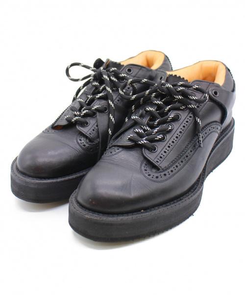 foot the coacher(フットザコーチャ)foot the coacher (フットザコーチャ) マウンテンブローグシューズ ブラック サイズ:7 MOUNTAIN BROGUE SHOES FTC1334035の古着・服飾アイテム