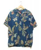 45rpm(45アールピーエム)の古着「インディゴアロハシャツ」|インディゴ