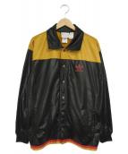 adidas(アディダス)の古着「90'Sトラックジャケット」|ブラック