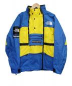 SUPREME×THE NORTH FACE(シュプリーム×ザ・ノースフェイス)の古着「Steep Tech Jacket」|ブルー×イエロー