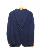 BOGLIOLI(ボリオリ)の古着「テーラードジャケット」 ネイビー