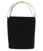 Cartier(カルティエ)の古着「トリニティハンドバッグ」|ブラック