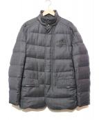 BRIONI(ブリオーニ)の古着「スーパー150Sウールダウンジャケット」|グレー