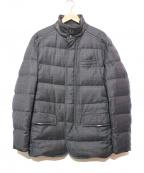 BRIONI(ブリオーニ)の古着「スーパー150Sウールダウンジャケット」 グレー