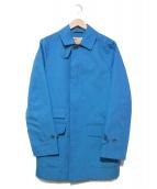 Traditional Weatherwear(トラディショナル ウェザーウェア)の古着「ステンカラーコート」|ブルー