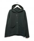 CORONA(コロナ)の古着「スウェットカーディガン」|ブラック
