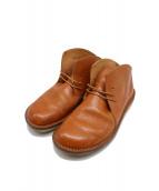 Trippen(トリッペン)の古着「ミドルブーツ」|ブラウン