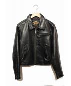 HARLEY-DAVIDSON(ハーレーダビットソン)の古着「ライダースジャケット」|ブラック