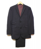 BURBERRY BLACK LABEL(バーバリーブラックレーベル)の古着「2Bスーツ」 ネイビー