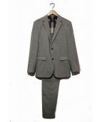 BLACK LABEL CRESTBRIDGE(ブラックレーベルクレストブリッジ)の古着「セットアップスーツ」 グレー