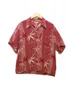 Sun Surf(サンサーフ)の古着「アロハシャツ」|レッド