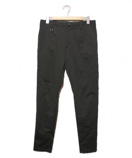 SOLIDO(ソリード)SOLIDO (ソリード) テーパードパンツ ブラック サイズ:02の古着・服飾アイテム