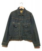 LEVIS(リーバイス)の古着「ショートホーンデニムジャケット」|インディゴ