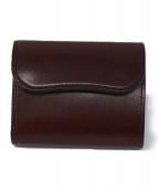 WILDSWANS(ワイルドスワンズ)の古着「2つ折り財布」|ブラウン