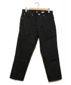 BEDWIN &THE HEARTBREAKERS(ベドウィンドアンドザ ハートブレイカーズ)の古着「9Lデニムパンツ」|ブラック