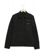 WACKO MARIA(ワコマリア)の古着「バックプリントスタッズジャケット」|ブラック