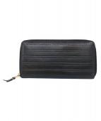 COMME des GARCONS(コムデギャルソン)の古着「総ステッチ長財布」 ブラック