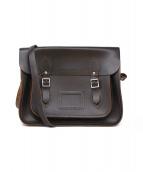 the cambridge satchel company(ケンブリッチサッチェルカンパニー)の古着「レザーバサッチェルバッグ」 ブラウン