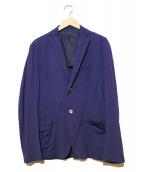 CRUCIANI(クルチアーニ)の古着「ジャージージャケット」 ネイビー