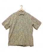 reyn spooner(レイン スプナー)の古着「アロハシャツ」 グレー