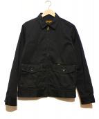 TROPHY CLOTHING(トロフィークロージング)の古着「ワークジャケット」|ブラック