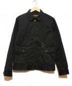 Trophy Clothing(トロフィークロージング)の古着「ワークジャケット」 ブラック