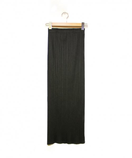 PLEATS PLEASE(プリーツプリーズ)PLEATS PLEASE (プリーツプリーズ) プリーツスカート ブラック サイズ:2 PP05-JG001 7556031の古着・服飾アイテム