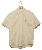 SOPH.(ソフ)の古着「スコーピオン刺繍ボタンダウンシャツ」 ホワイト