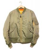 AVIREX(アビレックス)の古着「MA-1ジャケット」|オリーブ