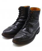 PARABOOT(パラブーツ)の古着「ショートブーツ」|ブラック