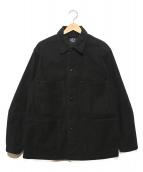 orSlow(オアスロウ)の古着「モールスキンカバーオール」|ブラック