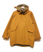 CORONA(コロナ)の古着「フーデッドジャケット」|ブラウン