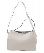 GIANNI CHIARINI(ジャンニ・キャリーニ)の古着「ハンドバッグ」|ホワイト