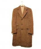 Belvest(ベルベスト)の古着「ウールチェスターコート」|ブラウン