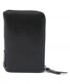 corbo(コルボ)の古着「L字ジップ二つ折り財布」 ブラック