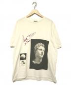LANVIN(ランバン)の古着「アートプリントTシャツ」|ホワイト