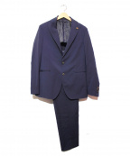 GABRIELE PASINI(ガブリアルパジーニ)の古着「セットアップスーツ」|ネイビー