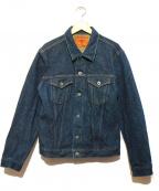 ONI DENIM(オニデニム)の古着「20oz3rdモデルデニムジャケット」 インディゴ