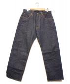SAMURAI JEANS(サムライジーンズ)の古着「17ozセルビッチデニムパンツ」|インディゴ