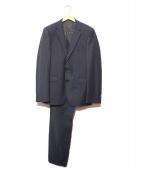 HUGO BOSS(ヒューゴボス)の古着「ストレッチセットアップスーツ」|ネイビー