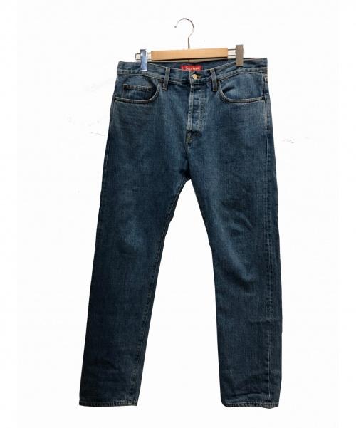 Supreme(シュプリーム)Supreme (シュプリーム) セルビッジウォッシュデニムパンツ ライトインディゴ サイズ:34 Stone Washed Slim Jeansの古着・服飾アイテム