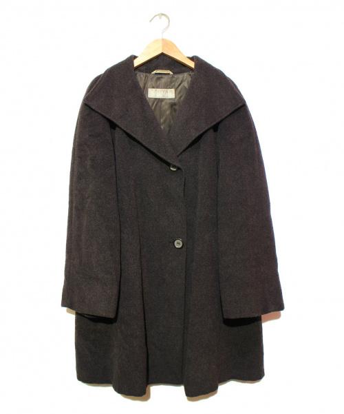 MaxMara(マックスマーラー)MaxMara (マックスマーラー) ウールコート グレー サイズ:38の古着・服飾アイテム