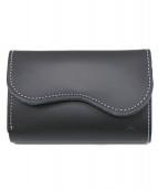 革蛸謹製(カワタコキンセイ)の古着「2つ折り財布」|ブラック
