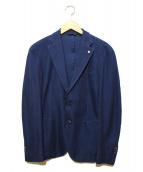 L.B.M.1911(エルビーエム1911)の古着「2Bテーラードジャケット」 ネイビー