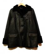 Salvatore Ferragamo()の古着「ムートンジャケット」|ブラック