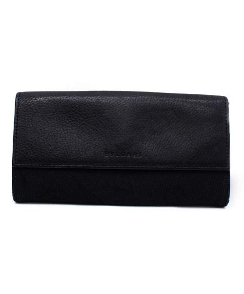 BVLGARI(ブルガリ)BVLGARI (ブルガリ) 長財布 ブラック MDMEELの古着・服飾アイテム