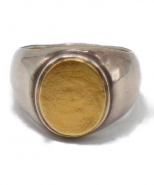 GIGI(ジジ)GIGI (ジジ) アルテミスシグネットリング サイズ:18号  SILVER925 K18使用 ARTEMIS signet ringの古着・服飾アイテム