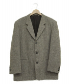COMME des GARCONS HOMME(コムデギャルソンオム)の古着「3Bメランジジャケット」 グレー